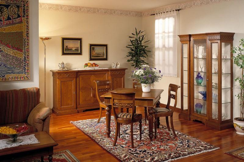 mobili a parete per soggiorno classici : Soggiorni in stile Classico B.P. Beretta Production di M. Beretta