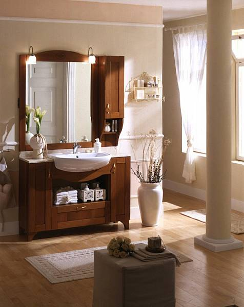 Bagni in stile classico b p beretta production di m beretta - Arredo bagno stile classico ...