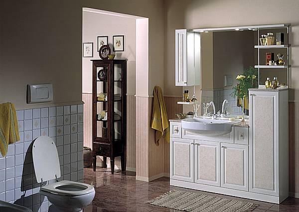 Bagni in stile classico b p beretta production di m - Mobili per bagno classici prezzi ...